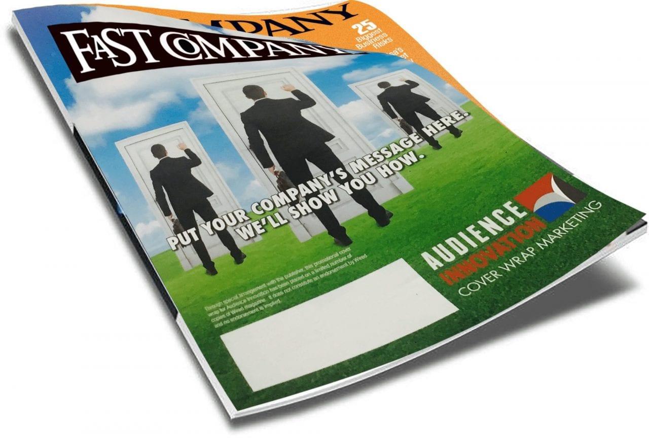 interactive offline touch points, Magazine Cover Wrap & Interactive Offline Touch Points