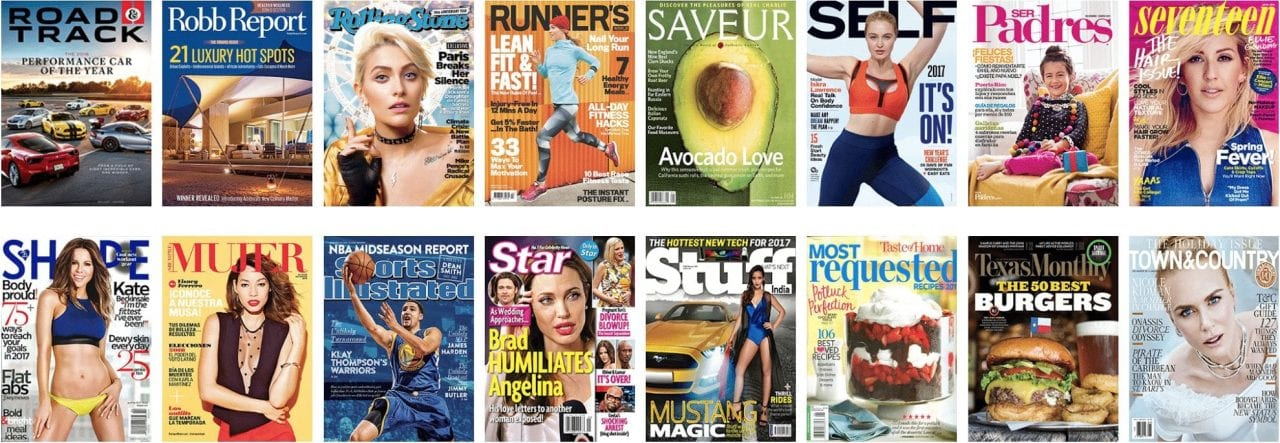 magazine options, Audience Innovation® – Our Publishing, Content & Magazine Options