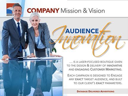 Media Kit, Audience Innovation® – Our Media Kit